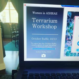 Women in Ashrae Terrarium Workshop Info